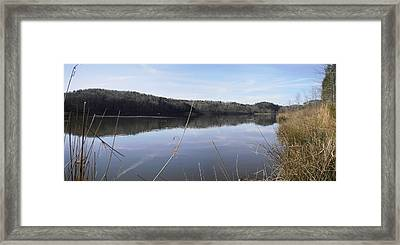 Lake Zwerner Early Spring Framed Print