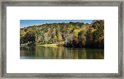 Lake Zwerner, Georgia Framed Print