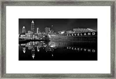 Lakefront Charcoal Framed Print by Frozen in Time Fine Art Photography