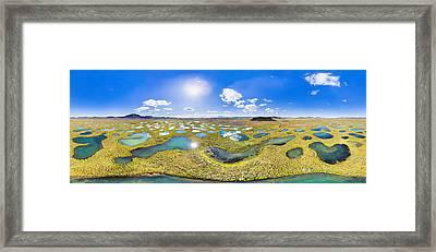 Lakeland In 360 Degrees Framed Print
