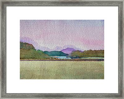 Lakes Of Killarney Framed Print