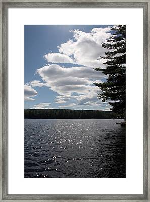Lakescape Framed Print by Jeff Porter