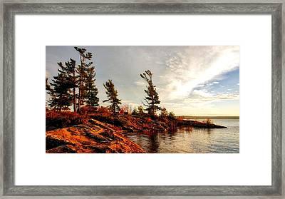 Lakeshore Framed Print