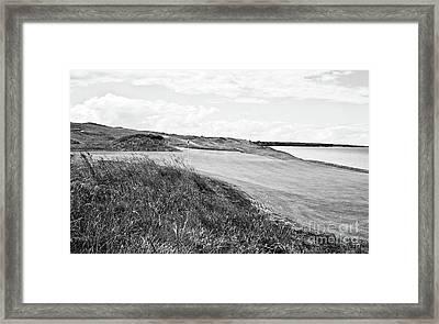 Lakeside Beauty - Bw No. 17 Framed Print
