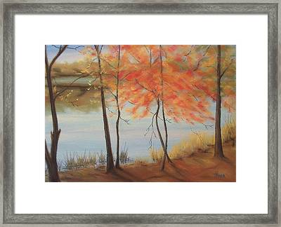 Lakeside Dancers IIII Framed Print by Pete Maier