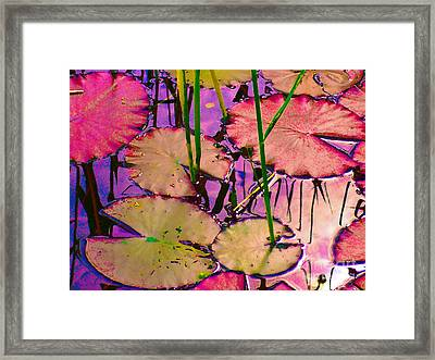 Lakeside I Framed Print by Loko Suederdiek