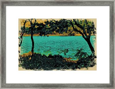 Lakeside No.1 Framed Print by Bonnie Bruno