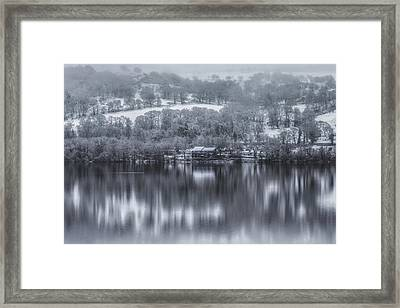 Lakeside Reflections Framed Print by Chris Fletcher