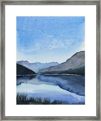 Lakeside Framed Print by Stephanie Aarons