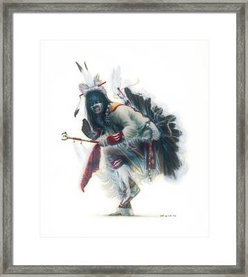 Lakota Dancer Framed Print