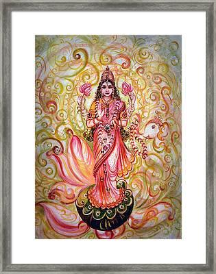 Lakshmi Darshanam Framed Print