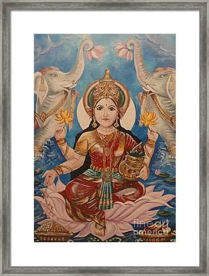 Lakshmi Framed Print by Sabrina Phillips
