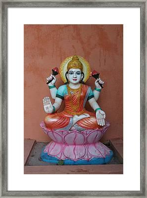 Lakshmi, Satara Framed Print