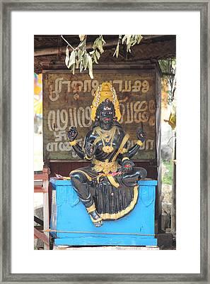 Lakshmi, Tiruvanamalai Framed Print