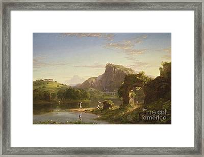 L'allegro, 1845 Framed Print by Thomas Cole