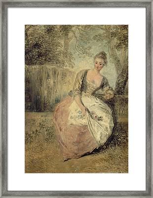 L'amante Inquiete Framed Print