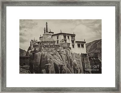 Lamayuru Monastery Framed Print
