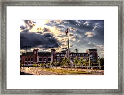 Lambeau Field Awakes Framed Print