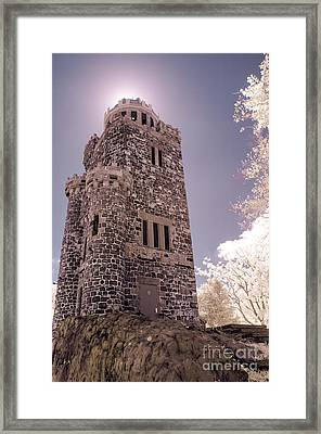 Lambert Tower Framed Print by Jeffrey Miklush