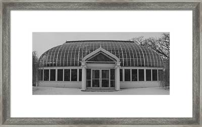 Framed Print featuring the photograph Lamberton  Arboretum In Winter by Joshua House
