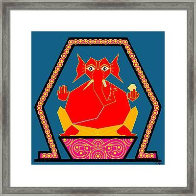 Lambodara Framed Print