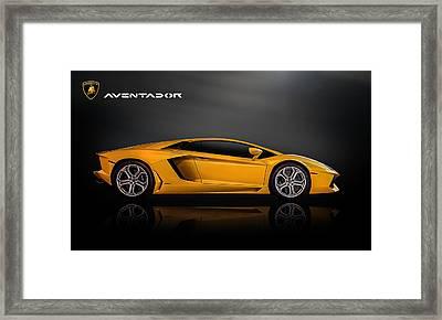 Lamborghini Aventador Framed Print by Douglas Pittman