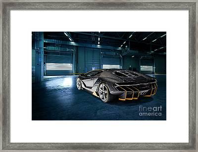 Lamborghini Centenario Lp 770-4 Framed Print