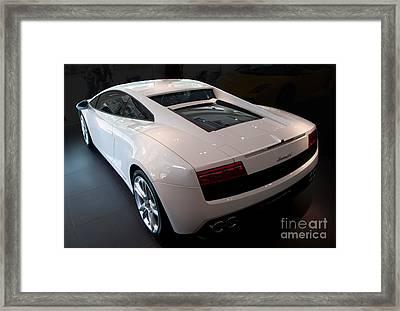 Lamborghini Gallardo Lp550-2 Framed Print