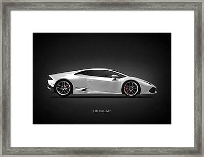 Lamborghini Huracan Framed Print by Mark Rogan