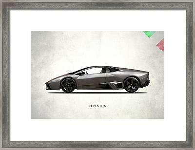 Lamborghini Reventon Framed Print by Mark Rogan
