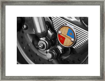 Lambretta Framed Print by Mark Rogan