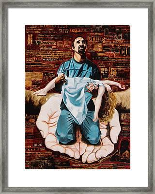 Lamentations Framed Print by Teresa Carter