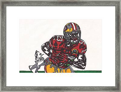 Lamicheal James 49ers Framed Print