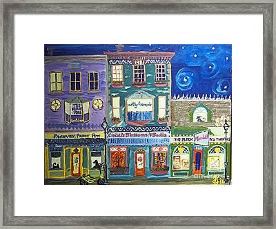 Lamothe Street Framed Print