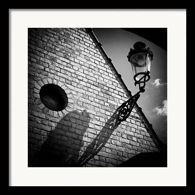Streetlight Framed Prints