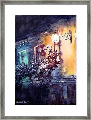 Lamplight Framed Print by Gyorgy Ozsvath