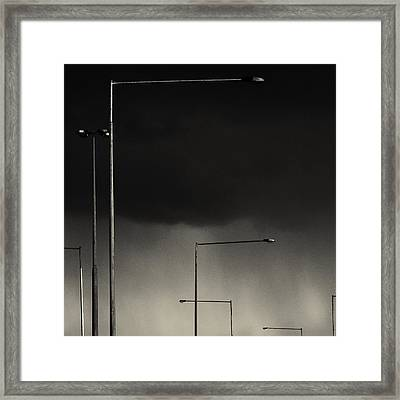 Lamps Framed Print