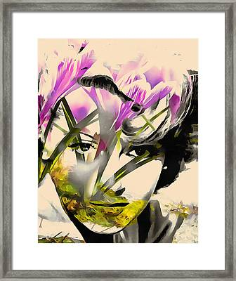 Lana Framed Print