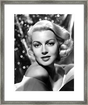 Lana Turner, Mgm, 1941 Framed Print by Everett