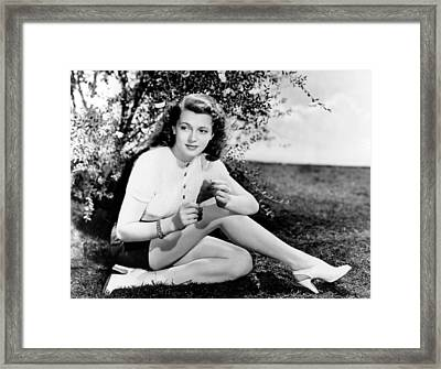 Lana Turner  Framed Print