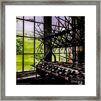 Lonaconing Silk Mill I Framed Print by Arne Hansen