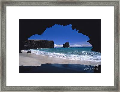 Lanai, Puu Pehe Framed Print by Ron Dahlquist - Printscapes