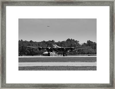 Lancaster Framed Print by Aircraft  In Motion