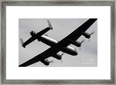 Lancaster Framed Print by Angel  Tarantella