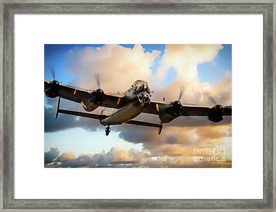 Lancaster Bomber - Skippy Framed Print