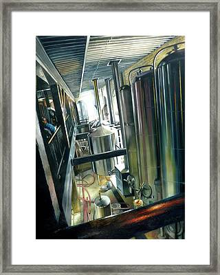 Lancaster Brewery Framed Print by Gregg Hinlicky