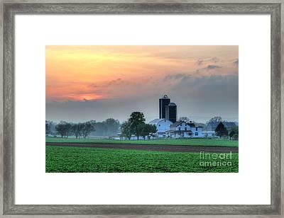 Lancaster County Framed Print
