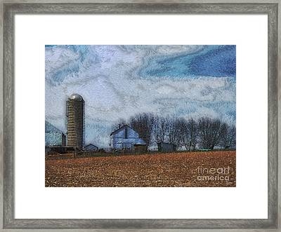 Lancaster County Pa Framed Print by Jeff Breiman