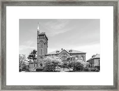 Lancaster Theological Seminary Lark Building Framed Print