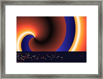 Lance Armstrong Framed Print by Tina Hariu